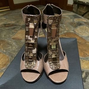 Vince Camuto T-Strap Heels